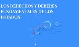 EL ESTADO COMO SUJETO DEL DERECHO INTERNACIONAL