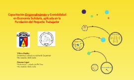Copy of Capacitacion Emprendimiento y Contabilidad en Economia Solid