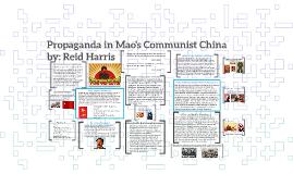 Propaganda in Mao's Communist China