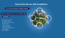 IDE Académica FRTL