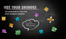 Using Your Sources