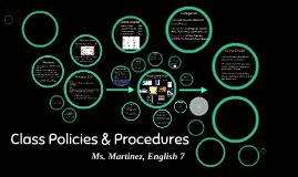 Eng. 7 Policies & Procedures