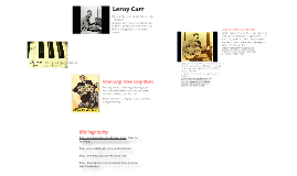 Blues Music Assignment Part Two/B