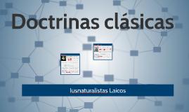 Doctrinas Clásicas 2 Iusnaturalistas Laicos