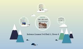 Science Lesson 5-6 Unit 1, Term 4