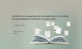 Escritura: las concepciones de los estudiantes y su relación