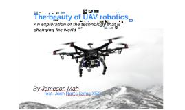 The beauty of UAV robotics