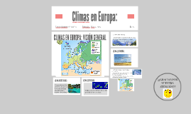 Copy of Copy of CIimas en Europa:
