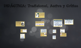 Didactica tradicional