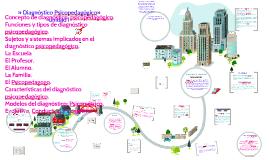Copy of Copy of » Diagnóstico Psicopedagógico»