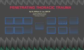 Crash Course: Thoracic Trauma