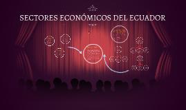 Copy of SECTORES ECONÓMICOS DEL ECUADOR