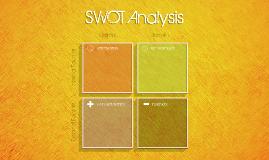 Copy of Copy of SWOT Template (orange)
