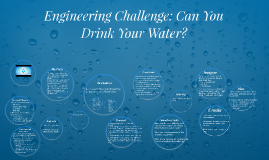 Engeneering Challenge: Can You Drink Your Water?