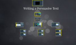 Writing a Persuasive Text