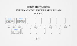 HITOS HISTÓRICOS INTERNACIONALES DE LA SEGURIDAD SOCIAL