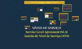 NÍVEIS DE SERVIÇO