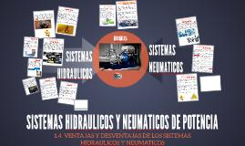 SISTEMAS HIDRAULICOS Y NEUMATICOS DE POTENCIA