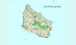 Bornholms geologi