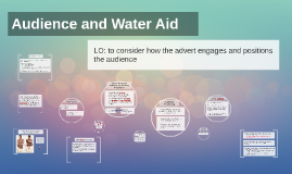 Audience and Water Aid
