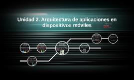 Copy of Unidad 2. Arquitectura de aplicaciones en dispositivos móvil
