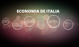 ECONOMIA DE ITALIA