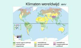 H2 P2 Klimaten wereldwijd