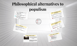 Philosophical roots of populism