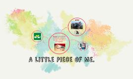 A Little Piece of Me.