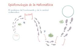 Epistemología de la matemática