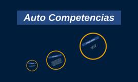 Auto Competencias