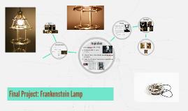 Final Project: Frankenstein Lamp