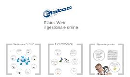 Copy of Elatos Web - gestionale online