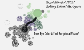 Does Eye Color Affect Peripheral Vision?