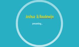 Joshua  & Boudewijn