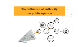 Influence of the authority