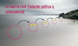 La Guerra Civil: evolución política y consecuencias