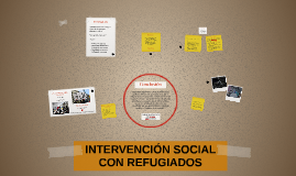 Intervención social con refugiados