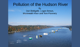 Pollution of the Hudson River