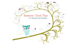 Summer Tech Tips for Parents and Students