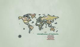 Globalization of Starbucks