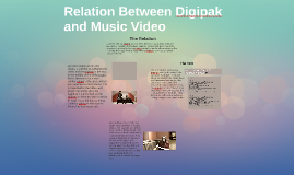 Relation Between Digipak and Music Video
