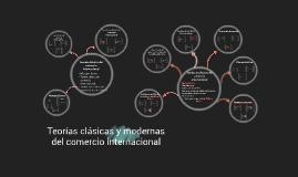 Copy of Copy of Copy of Teorías clásicas y modernas del comercio internacional