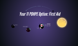 Preliminary PDHPE Option: First Aid
