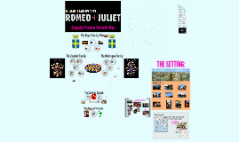 Romeo + Juliet Character Map