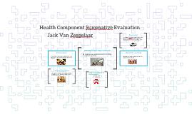 Health Component Summative Evaluation