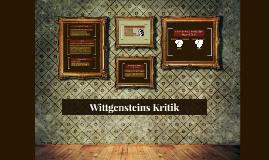 Wittgensteins Kritik