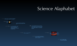 Copy of Science alphabet