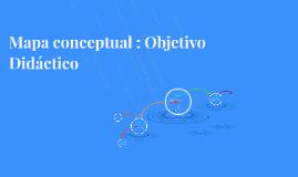 Mapa conceptual : Objetivo Didáctico