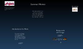 Summer History 2011
